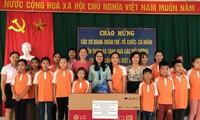 Cộng đồng chung tay góp sức vì trẻ em nghèo
