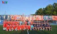 Bế mạc giải bóng đá Cộng đồng người Việt tại LB Nga năm 2018