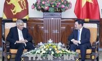 Phó Thủ tướng, Bộ trưởng Ngoại giao Phạm Bình Minh hội kiến với Thủ tướng Srilanka