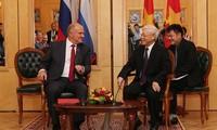 Tổng Bí thư Nguyễn Phú Trọng tiếp Chủ tịch Đảng Cộng sản Liên bang Nga G.Zyuganov
