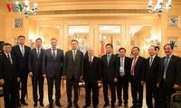 Tổng Bí thư Nguyễn Phú Trọng tiếp lãnh đạo các tập đoàn hàng đầu của Liên bang Nga