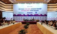 Hội thảo văn hóa doanh nghiệp và đạo đức kinh doanh