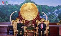 Củng cố quan hệ hữu nghị truyền thống Việt Nam - Lào