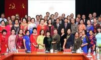 Trưởng ban Dân vận Trung ương Trương Thị Mai tiếp Đoàn cựu giáo viên kiều bào Thái Lan