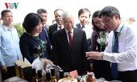 Tổng Bí thư Nguyễn Phú Trọng dự Lễ khai giảng năm học 2018 - 2019 của Học viện Nông nghiệp Việt Nam