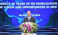 Việt Nam nhất quán thực hiện chính sách hợp tác đầu tư nước ngoài
