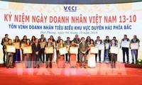 Lễ Tôn vinh doanh nhân tiêu biểu khu vực duyên hải phía Bắc năm 2018