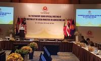 Hội nghị quan chức cao cấp nông lâm nghiệp ASEAN