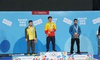Đô vật Ngô Xuân Đỉnh giành huy chương vàng tại Olympic trẻ 2018