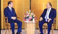 Thủ tướng Nguyễn Xuân Phúc tiếp các doanh nghiệp Nhật Bản