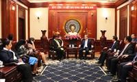 Lãnh đạo Thành phố Hồ Chí Minh tiếp Đoàn đại biểu Đảng Cộng sản Cuba