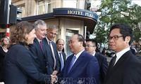 Thủ tướng Nguyễn Xuân Phúc làm việc với các doanh nghiệp hàng đầu EU và Bỉ
