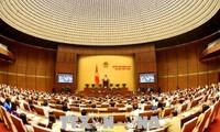 Quốc hội thảo luận về dự án Luật Giáo dục đại học và Luật Công an Nhân dân