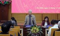 Tổng Bí thư, Chủ tịch nước Nguyễn Phú Trọng tiếp xúc cử tri Thủ đô Hà Nội