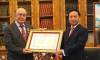Việt Nam tặng Huân chương Hữu nghị cho trường Đại học hàng đầu của LB Nga