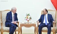Thủ tướng Nguyễn Xuân Phúc tiếp Giáo sư Đại học Harvard, Hoa Kỳ