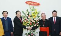 Chủ tịch MTTQ Việt Nam Trần Thanh Mẫn chúc mừng Lễ giáng sinh năm 2018