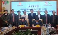 Đài Tiếng nói Việt Nam hợp tác tuyên truyền với tỉnh Ninh Thuận