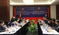Toạ đàm cấp cao giữa Trung ương Đoàn TNCS Hồ Chí Minh với Trung ương Đoàn Thanh niên Nhân dân cách mạng Lào
