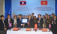 Thống nhất quản lý, bảo vệ mốc Quốc giới giữa tỉnh Quảng Trị và hai tỉnh Savannakhet, Salavan (Lào)