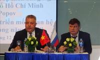 Liên bang Nga và Việt Nam thúc đẩy hợp tác phát triển trên nhiều lĩnh vực