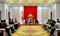 Đại biểu Nhóm Nghị sỹ hữu nghị Hàn Quốc - Việt Nam tin tưởng sẽ có nhiều doanh nghiệp và người dân Hàn Quốc đến với Quảng Ninh