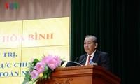 Phó Thủ tướng Thường trực Trương Hòa Bình thăm, làm việc với Kiểm toán Nhà nước