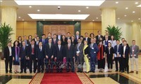 Trưởng ban Kinh tế Trung ương Nguyễn Văn Bình tiếp Đoàn đại biểu Hội đồng Kinh doanh Hoa Kỳ-ASEAN