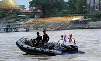 4 nước khởi động tuần tra chung lần thứ 80 trên sông Mekong