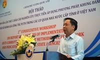Hoàn thiện công tác đánh giá phòng chống tham nhũng tại Việt Nam