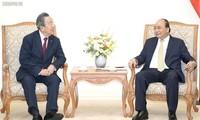 Thủ tướng Nguyễn Xuân Phúc tiếp Chủ tịch Tập đoàn Maruhan