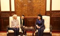 Phó Chủ tịch nước Đặng Thị Ngọc Thịnh tiếp Chủ tịch Tổ chức Operation Smile
