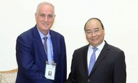Thủ tướng Nguyễn Xuân Phúc tiếp Đoàn các hãng thông tấn tham dự Hội nghị Ban Chấp hành OANNA lần thứ 44