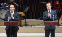 Thủ tướng Nguyễn Xuân Phúc và Thủ tướng Medvedev dự lễ khai mạc Năm chéo Việt-Nga