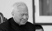 Thủ tướng Việt Nam gửi điện chia buồn cựu Thủ tướng Thái Lan qua đời