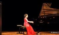 Thí sinh Việt Nam đạt ngôi vị quán quân trong 3 cuộc thi piano quốc tế tại Italia