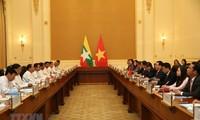 Tăng cường hơn nữa quan hệ hữu nghị Việt Nam - Myanmar