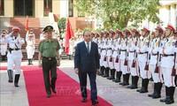 """Thủ tướng Chính phủ: Xây dựng đội ngũ cán bộ Công an """"trọng dân, gần dân, hiểu dân, học dân và có trách nhiệm với dân"""""""