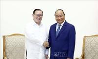 Thủ tướng Chính phủ Nguyễn Xuân Phúc tiếp xã giao Bộ trưởng Ngoại giao Philippines