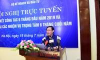 Bộ Kế hoạch và Đầu tư triển khai nhiệm vụ 6 tháng cuối năm