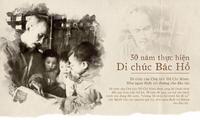 Tư tưởng vì con người trong Di chúc của Chủ tịch Hồ Chí Minh