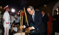 Lãnh đạo Thành phố Hồ Chí Minh dâng hương tưởng niệm Chủ tịch Tôn Đức Thắng