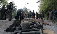 Ledakan bom di Thailand selatan menewaskan 4 serdadu