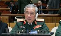 Delegasi tingkat tinggi Kementerian Pertahanan menghadiri Konferensi PBB tentang penjagaan perdamaian