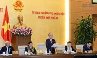 Persidangan ke-44 Komite Tetap MN Vietnam dibuka