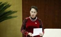 MN Vietnam mengakhiri tiga hari interpelasi dan jawaban interpelasi terhadap para anggota Pemerintah
