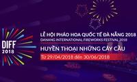 Festival Kembang Api Internasional Kota Da Nang tahun 2018