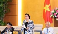 Persidangan ke-25 Komite Tetap MN Vietnam dibuka