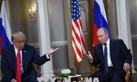 Trump commente sa rencontre avec Poutine