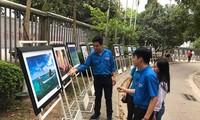 Menyosialisasikan usaha membela kedaulatan, mengembangkan secara berkesinambungan laut dan pulau Vietnam